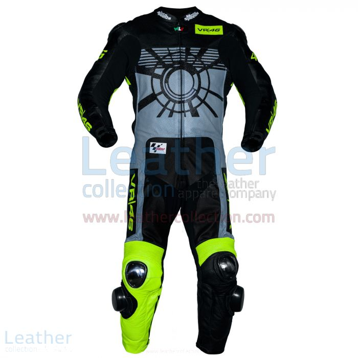 Valentino Rossi 2013 VR46 Race Suit front