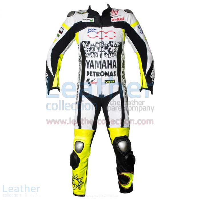 Valentino Rossi Special 500 Mila Race Suit front