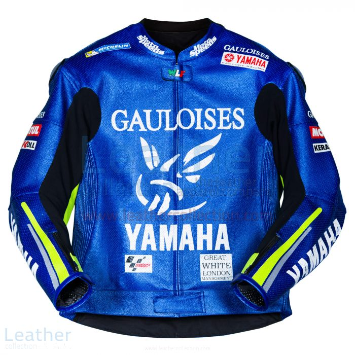 Pick up Valentino Rossi Yamaha MotoGP 2005 Leather Jacket for $450.00