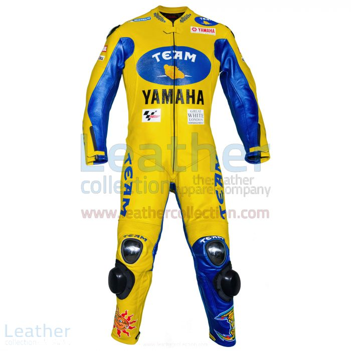 Valentino Rossi Yamaha MotoGP 2006 Racing Suit front