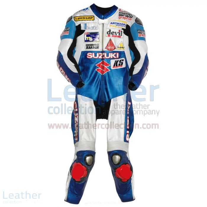 Vincent Philippe Suzuki 2008 Leathers back