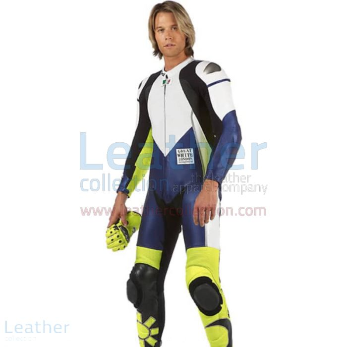 Pick up VR46 Racing Leather Suit for £646.00 in UK