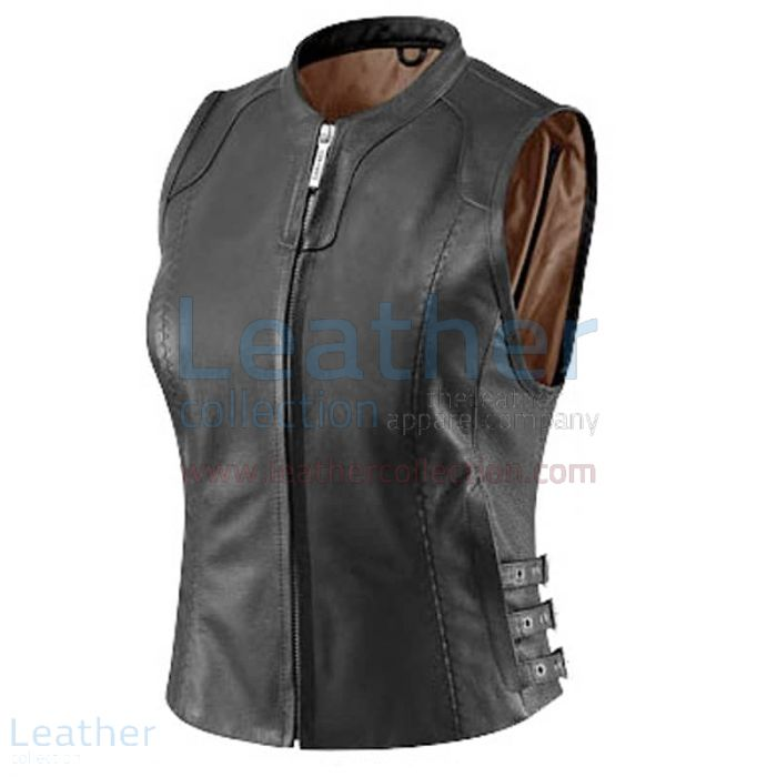 Classic Leather Vest | Buy Now | Leather Collection