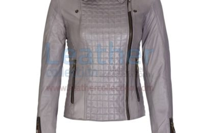 HERITAGE LADIES FASHION LEATHER JACKET