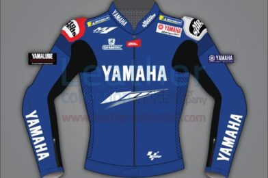 JORGE LORENZO YAMAHA LEATHER MOTORCYCLE JACKET MOTOGP 2020