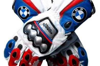 BMW LEATHER MOTORCYCLE GLOVES