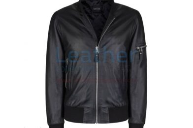 SAGE BOMBER JACKET BLACK