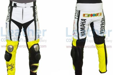 ROSSI YAMAHA PETRONAS 500 LEATHER RACING PANTS