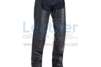 RICHMOND FASHION LEATHER RIDER CHAPS