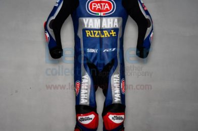 MICHAEL VAN DER MARK YAMAHA RIDING LEATHERS WSBK 2020